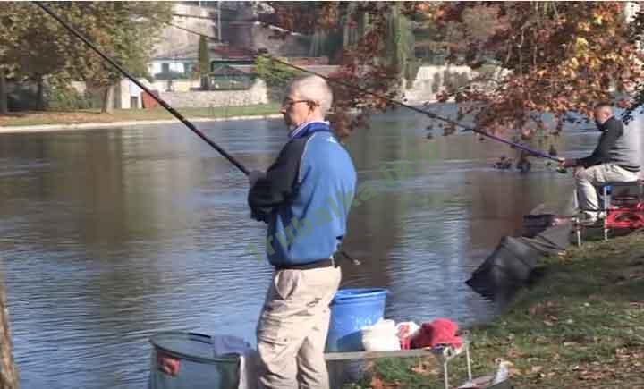 болонская ловля на реке