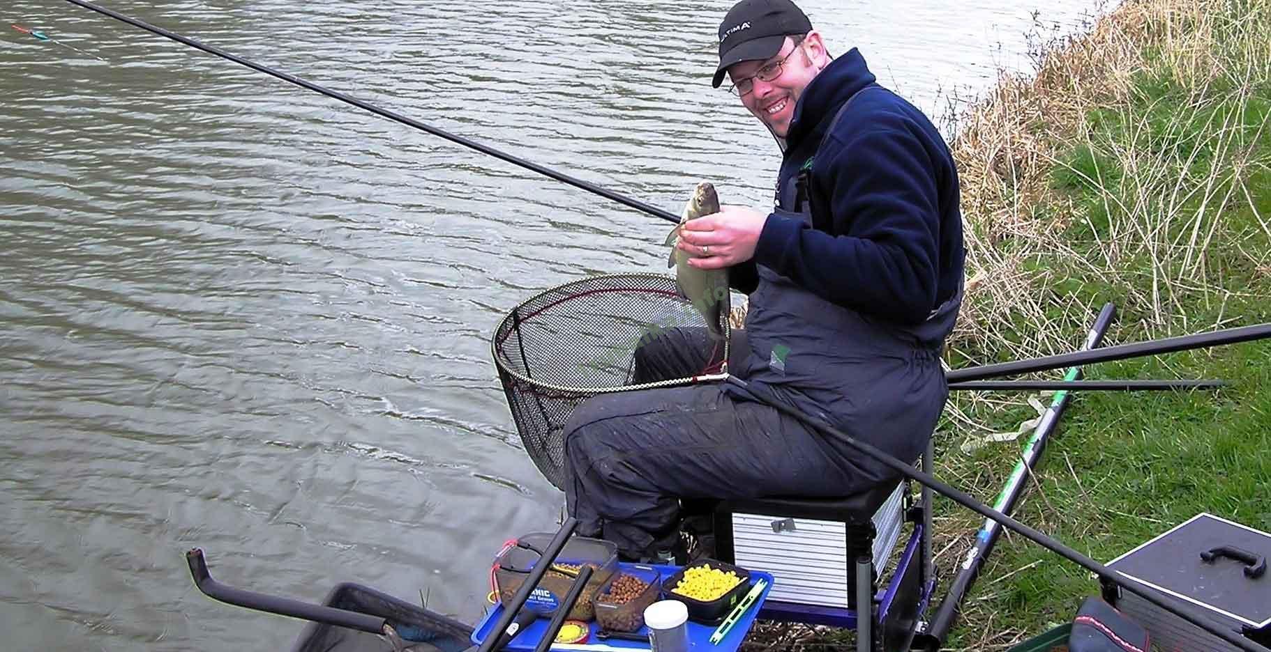 рыбалка с поплавочным удилищем