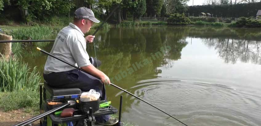 рыбалка видео на поплавок на речке видео
