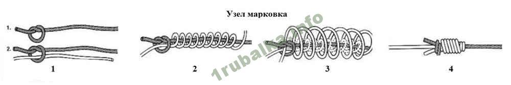 способы вязания петель на фидер
