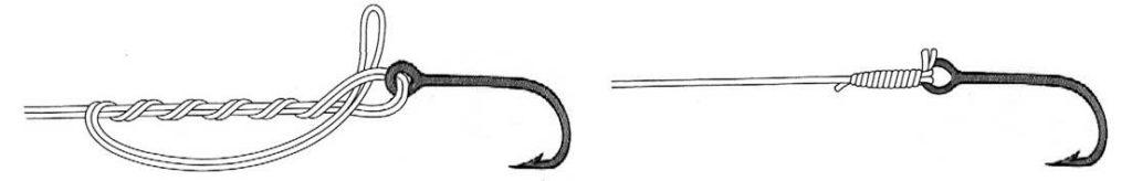 Рыболовный узел клинч